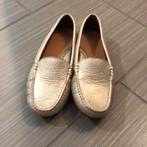Other - Gold Veretini Loafers